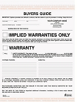 BGS-675 2-Part Buyer's Guide Warranty